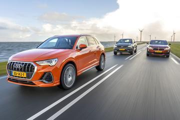 Audi Q3 - BMW X2 - Volvo XC40 - Triotest