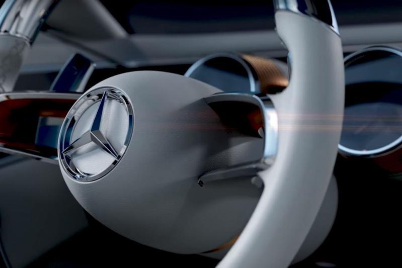 Mercedes-Benz teaset concept voor Pebble Beach