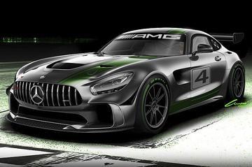 Mercedes-AMG stoomt GT4 klaar
