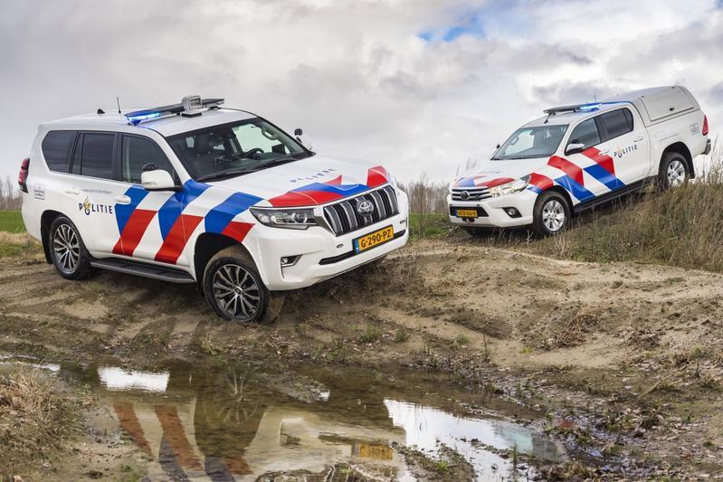 Toyota Hilux Toyota Land Cruiser Politie