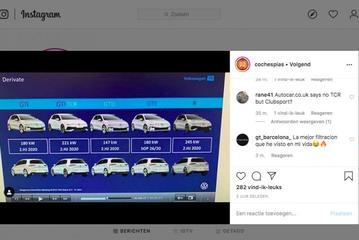 Volkswagen Golf GTI lekt verder uit