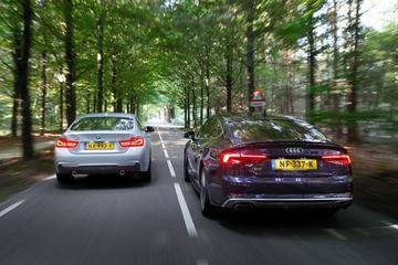 Audi S5 Sportback vs. BMW 440i Gran Coupe - Dubbeltest