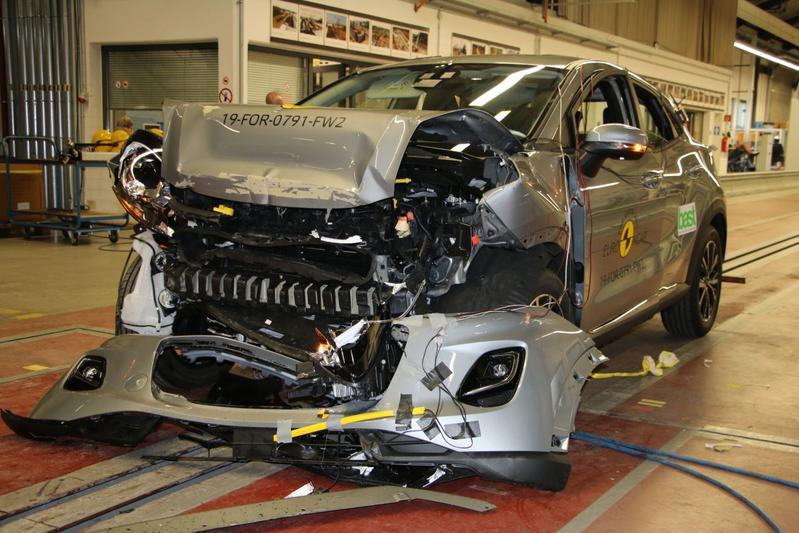 Ford Puma EuroNCAP