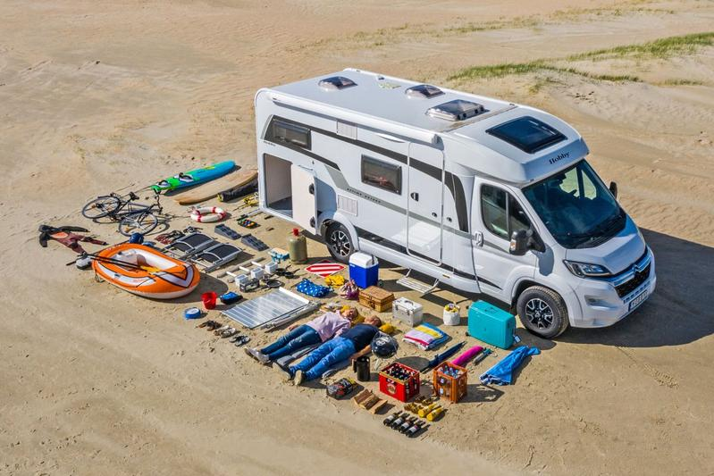 Hobby camper