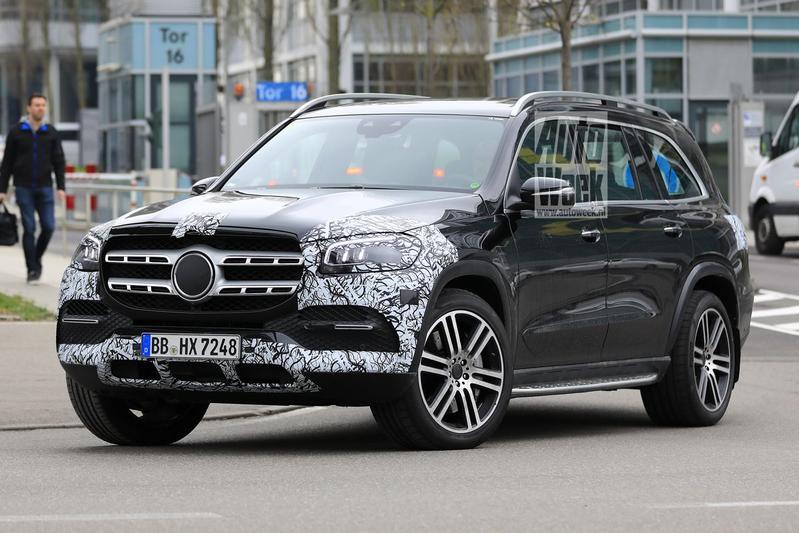 Mercedes-Benz GLS Spyshots