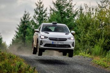 Opel Corsa als rallykanon