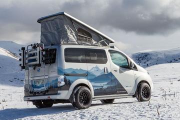 Nissan toont avontuurlijke elektrische kampeerauto
