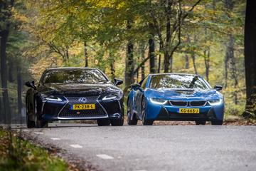 BMW i8 - Lexus LC 500h