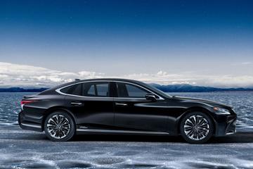 Lexus LS 350 gepresenteerd