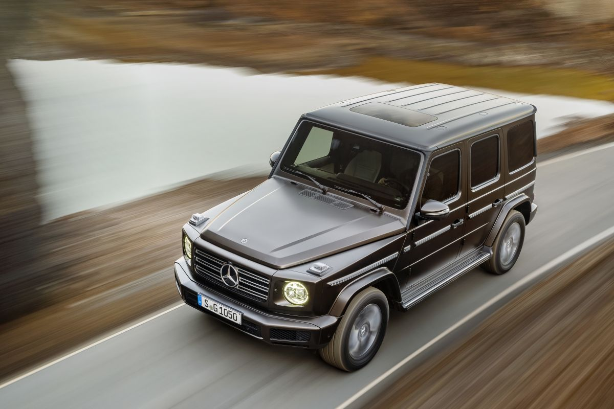 d t is de nieuwe mercedes benz g klasse. Black Bedroom Furniture Sets. Home Design Ideas