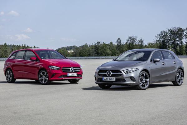 Dit zijn de Mercedes-Benz A- en B-klasse plug-in