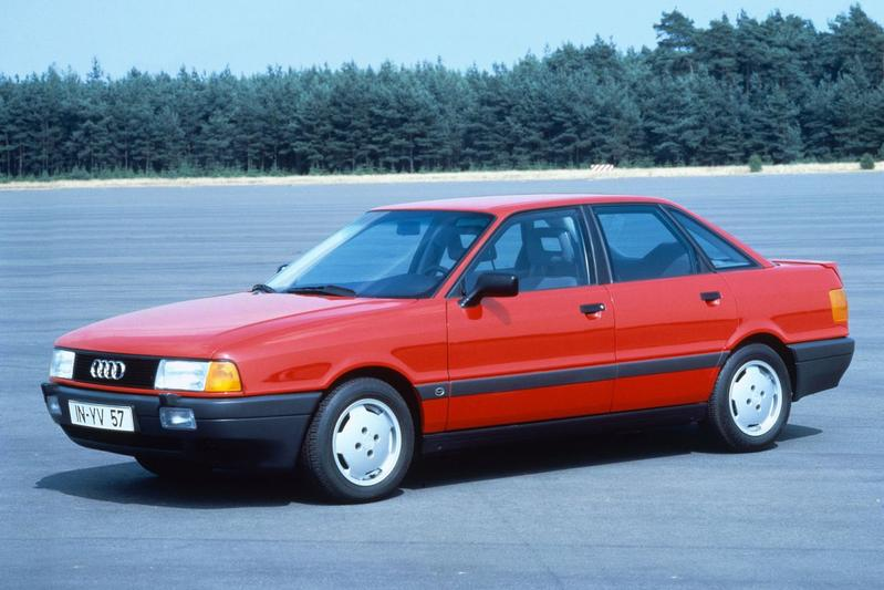 Audi 80 2.0 E (1989)