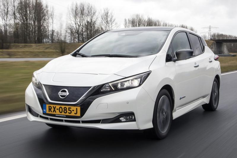 Nissan Leaf EV elektrisch