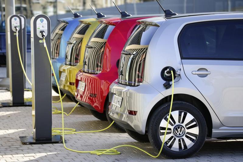 Volkswagen e-Up laadpaal ev