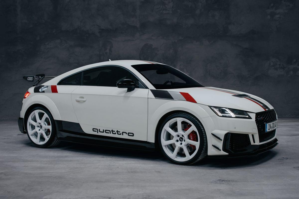Audi TT 40 Jahre