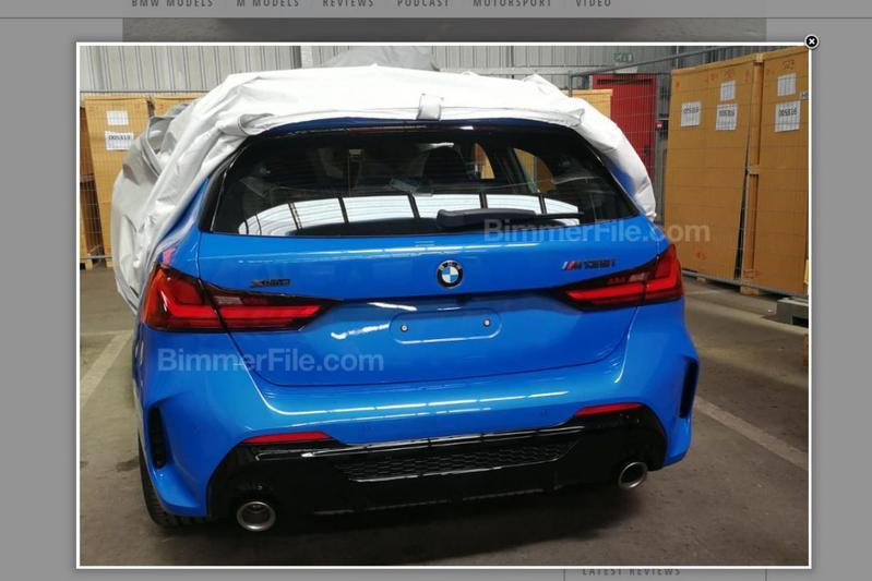 BMW 1-serie gelekt M135i
