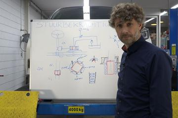 Hydraulische stuurbekrachtiging - Cornelis schetst