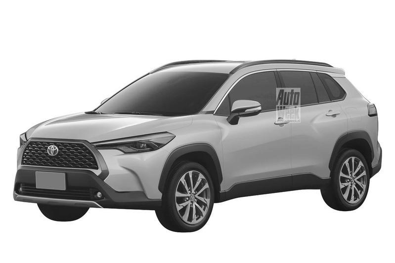 Toyota Corolla Cross Patent