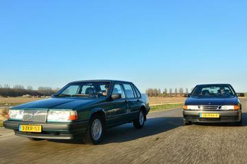 Volvo 940 2.3 GLE - Saab 9000 CS