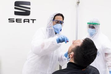 Seat test 15.000 medewerkers voor heropening fabriek