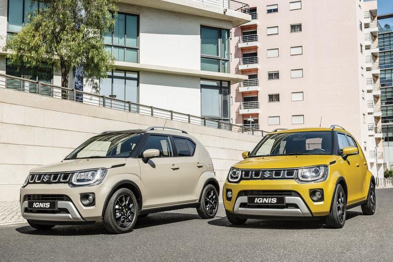 Suzuki Ignis Facelift Europa