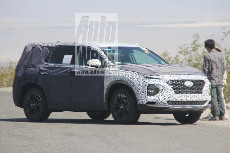 Gesnapt: nieuwe Hyundai Santa Fe