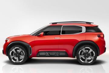 Citroën Aircross Concept heeft Alloybumps