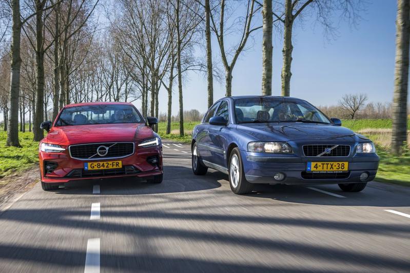 Volvo S60 2.4i (2001) - Volvo S60 T4 - Oud & nieuw