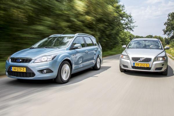 AW 36 Volvo V50 vs. Ford Focus Wagon