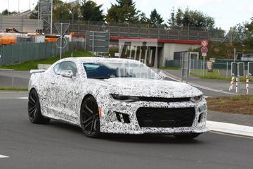 Testwerk Chevrolet Camaro ZL1 begonnen