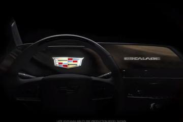 Cadillac toont Escalade vanbinnen