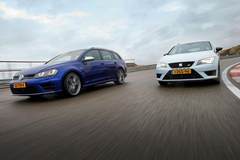 Dubbeltest - VW Golf R Variant vs. Seat Leon ST Cupra