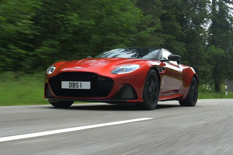 Aston Martin DBS Superleggera - Rij-impressie
