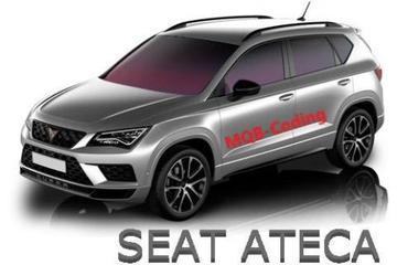 Cupra-versie Seat Ateca duikt op