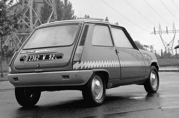 De elektrische Renault 5 was er al in de jaren 70