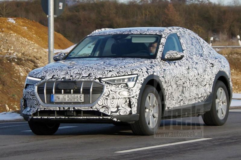 Audi E-tron Sportback spionage
