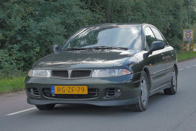 Klokje Rond - Mitsubishi Carisma MSX 1997 / 366.896 km