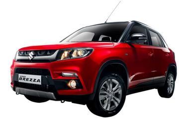 Suzuki Vitara Brezza: kleintje Vitara