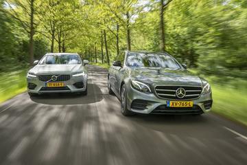 Mercedes-Benz E300DE Estate - Volvo V90 - Dubbeltest
