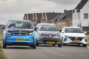 BMW i3 - Hyundai Ioniq Electric - Renault Zoe