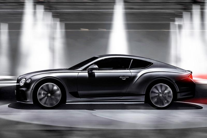 Bentley Continental GT Speed teaser
