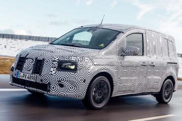 Elektrische Mercedes-Benz eCitan te zien
