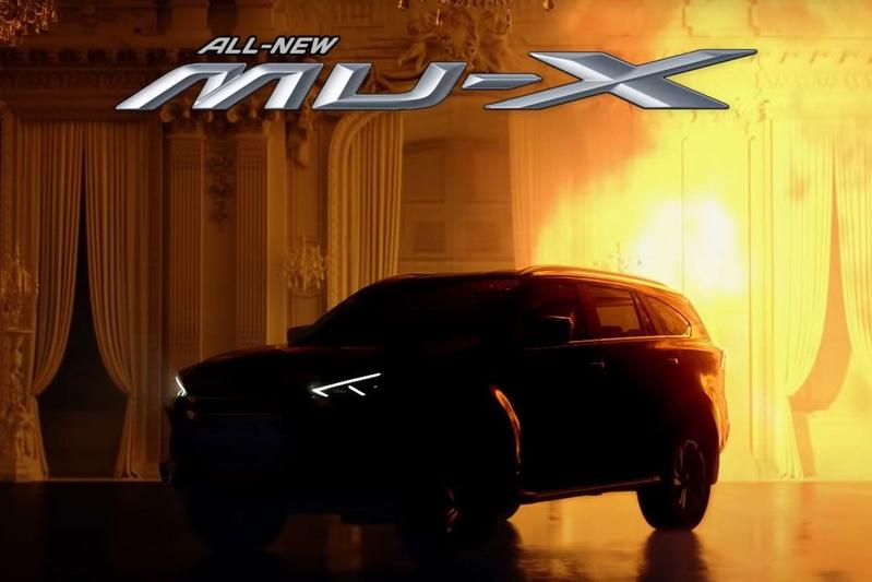 Isuzu MU-X teaser