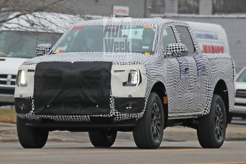 Ford Ranger spionage