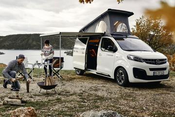 Opel Zafira Life als camper beschikbaar