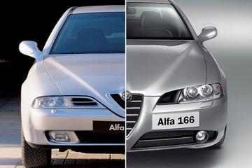 Facelift Friday: Alfa Romeo 166