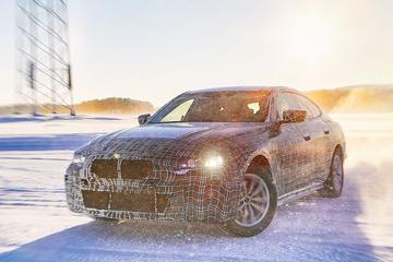 BMW belicht i4