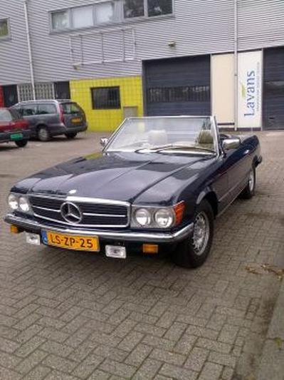 Mercedes-Benz 380 SL (1981)