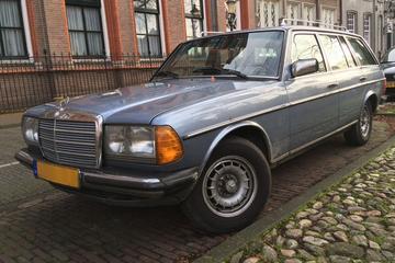 In het Wild: Mercedes-Benz 280 TE (1986)