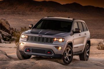 Jeep Grand Cherokee ook als Trailhawk